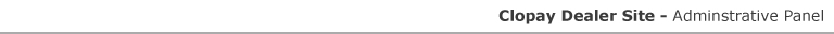 Clopay Dealer Login