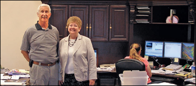 Owners of A Door Company, Dave & Shirley Littlefield
